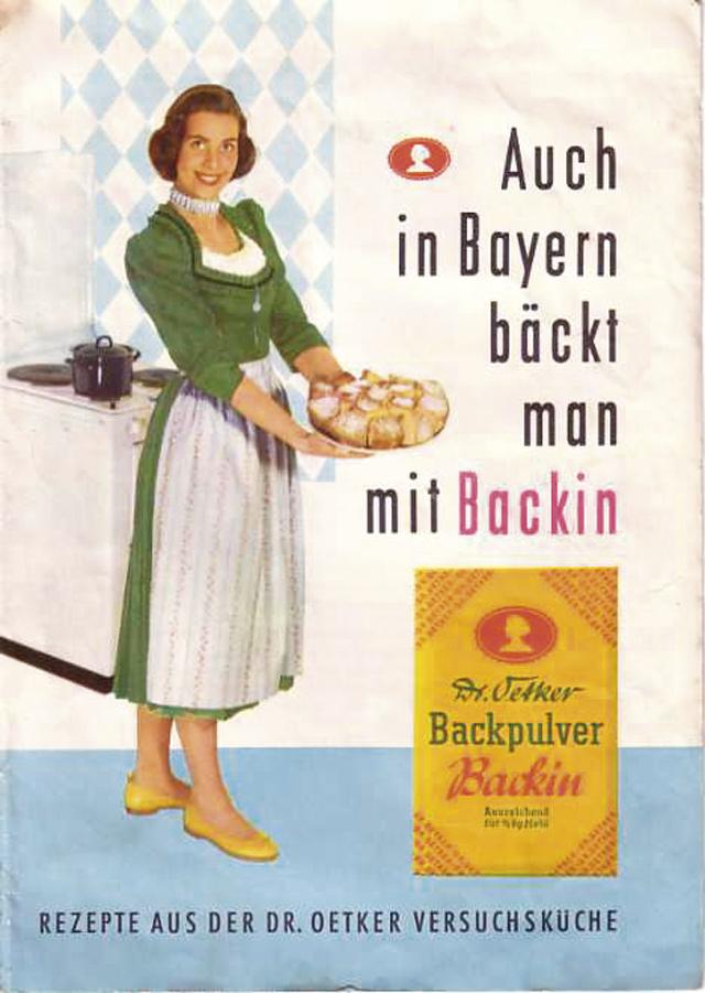 Ideen aus der eigenen Versuchsküche: Seit 1910 gab Dr. Oetker Rezeptbücher heraus.