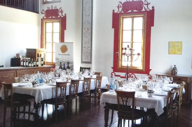 Bei der Viña von Siebenthal kann der Gast Weine aus dem Aconcagua-Tal verkosten.