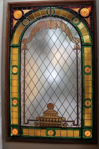Bleiglasfenster Casa Mönckeberg