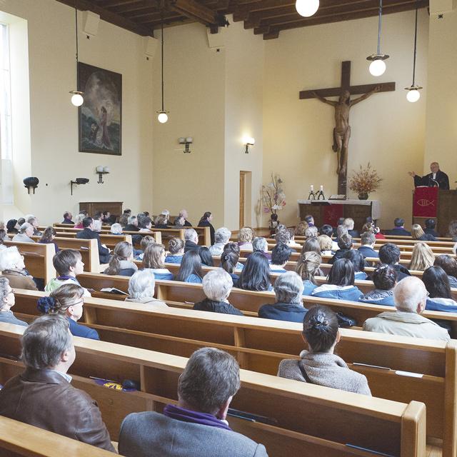 Un culto en la Iglesia Luterana de Osorno