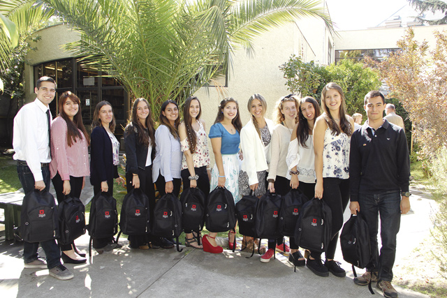 Damit deutschsprachiger Unterricht an den Deutschen Schulen Chiles weiterhin möglich ist: die neuen Studierenden am Campus Santiago – LBI.