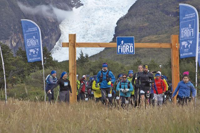 Startschuss zum Ultrafjord 2018, südlich des Nationalparks Torres del Paine.
