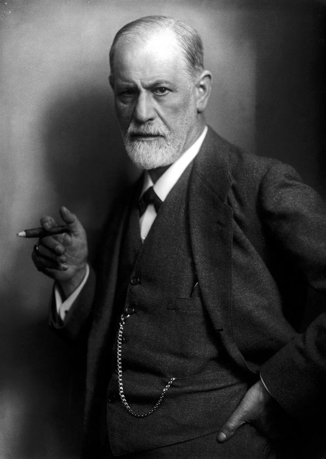 Sigmund Freud, der Begründer der Psychoanalyse