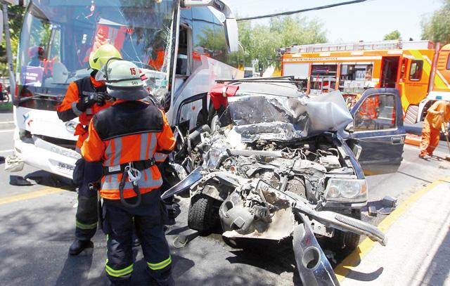Verkehrsunfälle gehören zu den meisten Einsatztypen der Feuerwehr