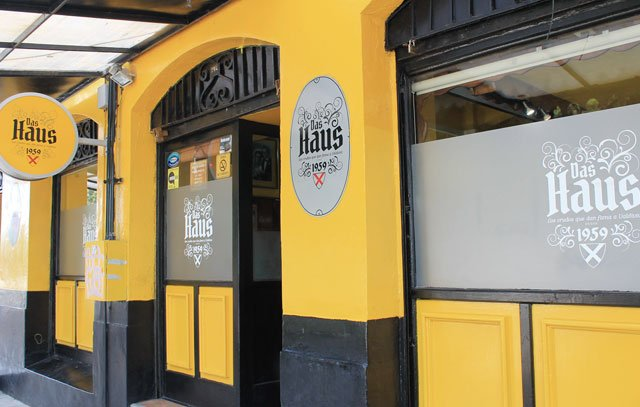 Das alteingesessene «Café Haussmann» in der Straße O´Higgins heißt nun «Das Haus».
