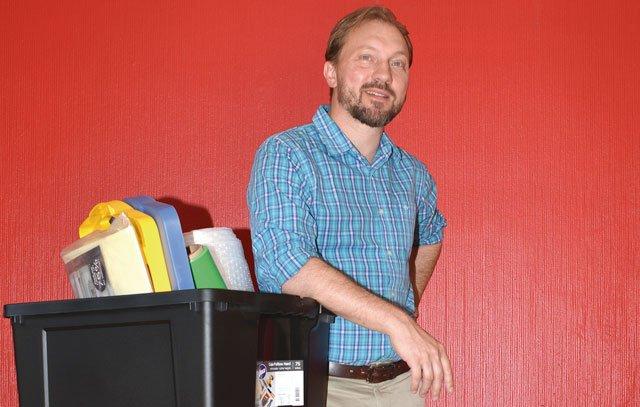 Arne Dettmann beim Kofferpacken: Der gebürtige Hamburger war 14 Jahre lang bei der deutsch-chilenischen Zeitung Cóndor tätig und kehrt Ende Februar 2019 mit seiner Familie in seine Heimatstadt zurück.