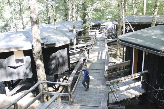 Canopy Village in Huilo Huilo