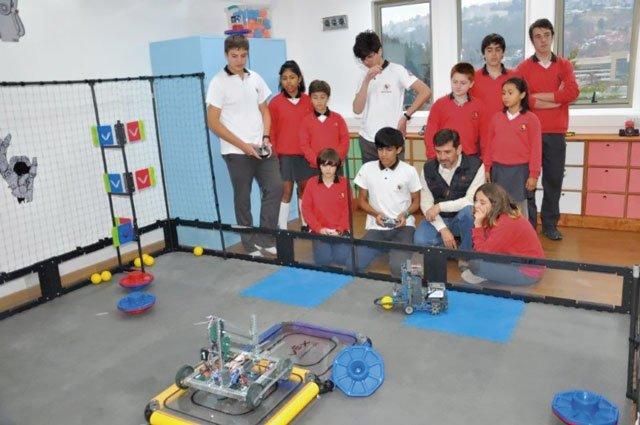 Robotik Deutsche Schule Valparaíso