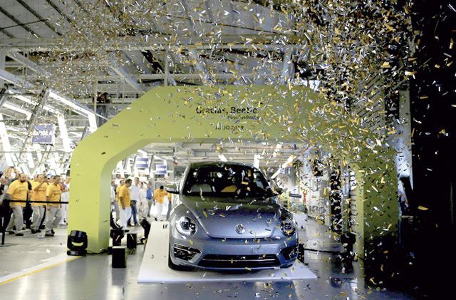 VW Beetle Ende Produktion