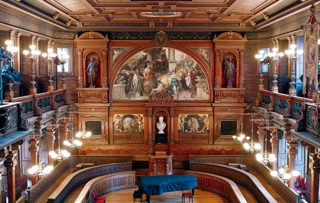 Innenansicht der Aula der Alten Universität Heidelberg: Die renommierte Hochschule holte sich nach 2007 und 2012 nun zum dritten Mal den begehrten Titel «Exzellenzuniversität».