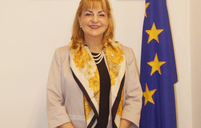 Stella Zervoudaki - Botschafterin der Europäischen Union in Chile