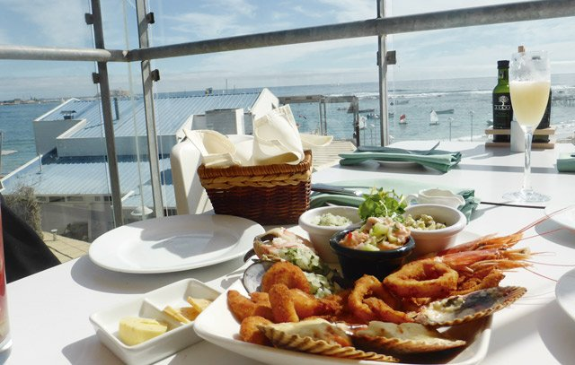Al Muelle Restaurant in Algarrobo