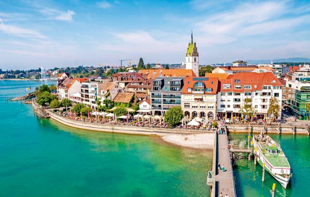 Freundeskreis chilenischer Burschenschaften in Deutschland besucht Friedrichshafen